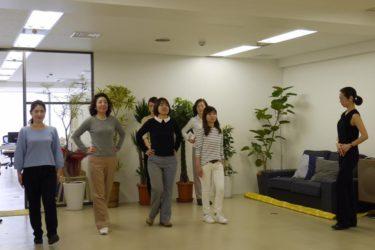 ヘアサロン・WHITE HOUSE様主催「WHITE SCHOOL」にて美しい歩き方講座