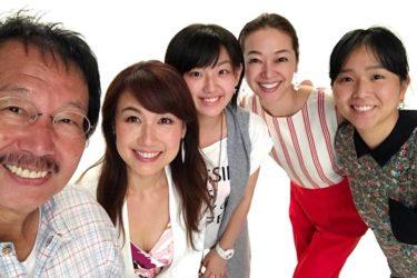 人気MC・小林万希子さまプロフィール撮影にてポージング指導